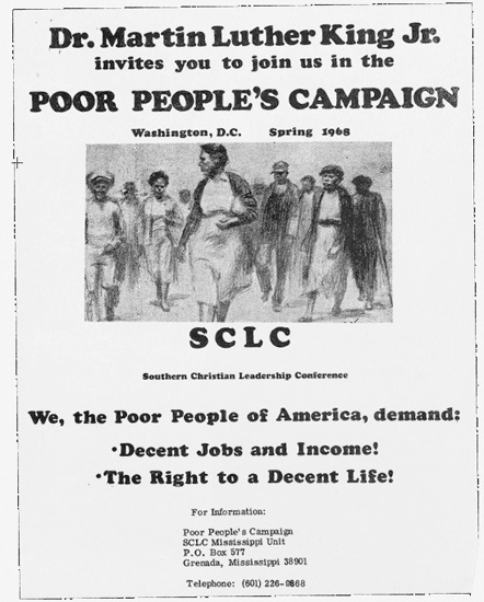 Poor Peoples Campaign flyer